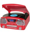 Trevi TT 1068 E SISTEMA GIRADISCHI STEREO CON MP3, CD, BLUETOOTH, USB, SD, RADIO FM, FUNZIONE ENCODING